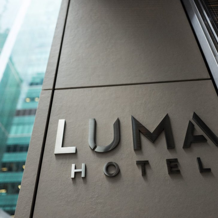 Luma Hotel Times Square - between Times Square and Bryant Park